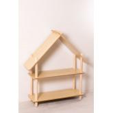 Zita Kids plank met 2 houten planken, miniatuur afbeelding 2