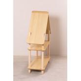 Zita Kids plank met 2 houten planken, miniatuur afbeelding 4