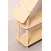 Zita Kids plank met 2 houten planken, miniatuur afbeelding 5