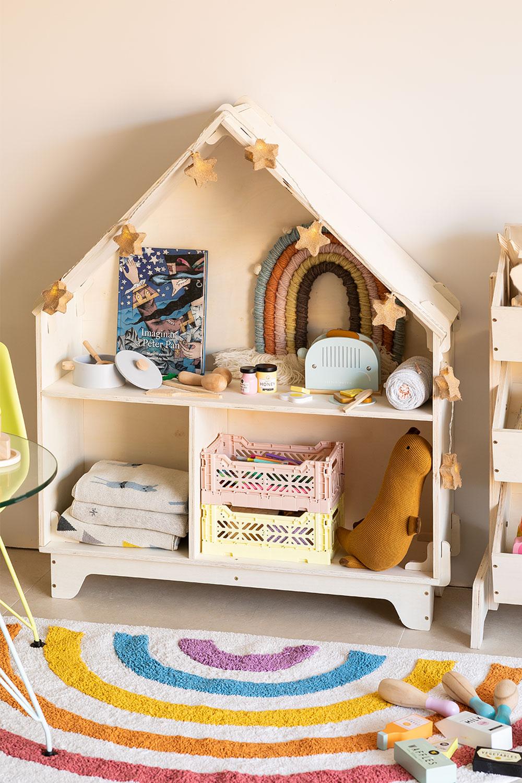Plank voor kinderen met Kasi-vakken Kids, galerij beeld 1