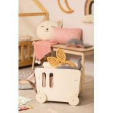 Zac Kinderwagen met houtopslag Kids, miniatuur afbeelding 1