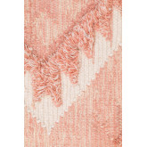 Vloerkleed van wol en katoen (210x145 cm) Roiz, miniatuur afbeelding 2