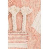 Vloerkleed van wol en katoen (210x145 cm) Roiz, miniatuur afbeelding 4