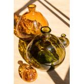 vaas van gerecycled glas 18 cm Jound, miniatuur afbeelding 4