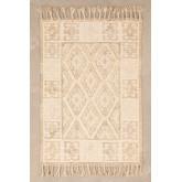 Tapijt van wol en katoen (205x140 cm) Takora, miniatuur afbeelding 1