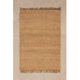 Jute vloerkleed (185x125 cm) Kendra, miniatuur afbeelding 1