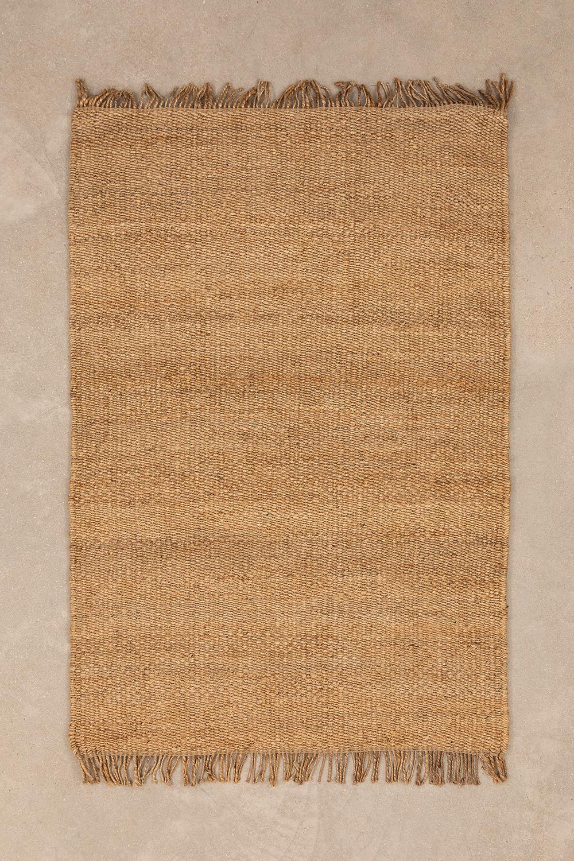 Jute vloerkleed (185x125 cm) Kendra, galerij beeld 1