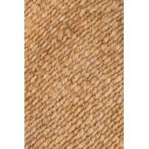 Jute vloerkleed (185x125 cm) Kendra, miniatuur afbeelding 2