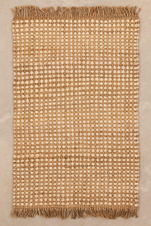 Jute vloerkleed (190x120 cm) Kolin, galerij beeld 1