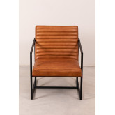Zelan lederen fauteuil, miniatuur afbeelding 3