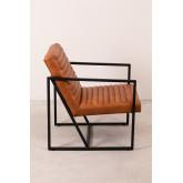 Zelan lederen fauteuil, miniatuur afbeelding 4