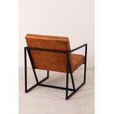 Zelan lederen fauteuil, miniatuur afbeelding 5