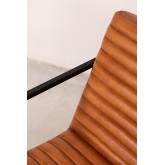 Zelan lederen fauteuil, miniatuur afbeelding 6
