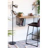 Krom staande lamp, miniatuur afbeelding 1