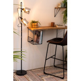 Krom staande lamp, miniatuur afbeelding 2