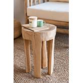 Dery Wood bijzettafel, miniatuur afbeelding 1