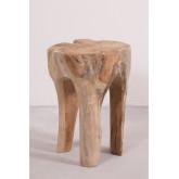 Tekka houten bijzettafel, miniatuur afbeelding 2