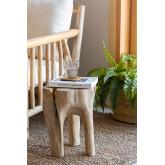 Tekka houten bijzettafel, miniatuur afbeelding 1