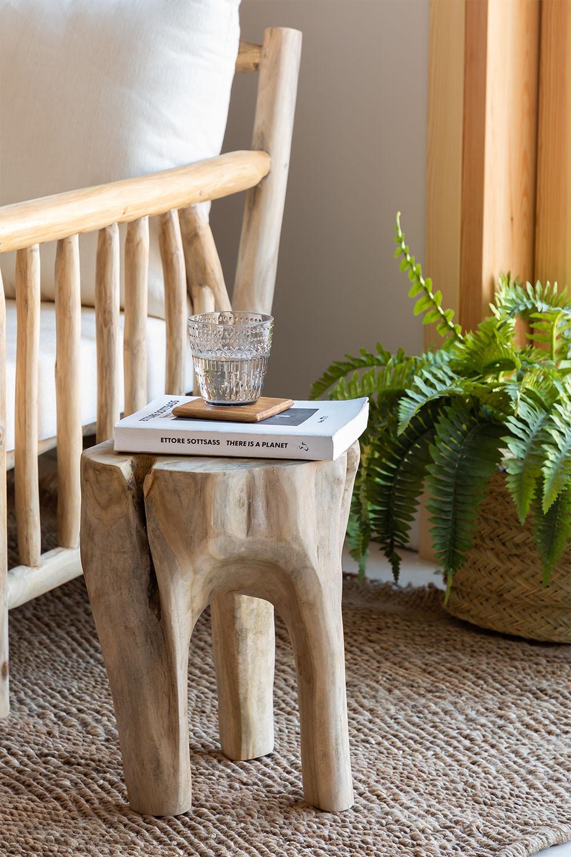 Tekka houten bijzettafel, galerij beeld 1