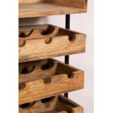 Wenni Wood Wall Wijnrek, miniatuur afbeelding 5