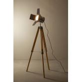 Cinne metalen dimbare statief vloerlamp, miniatuur afbeelding 4