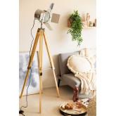 Cinne metalen dimbare statief vloerlamp, miniatuur afbeelding 1