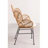 Rinum fauteuil van synthetisch rieten, miniatuur afbeelding 3