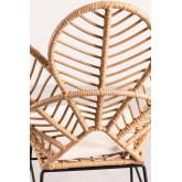 Rinum fauteuil van synthetisch rieten, miniatuur afbeelding 5
