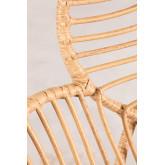 Rinum fauteuil van synthetisch rieten, miniatuur afbeelding 6