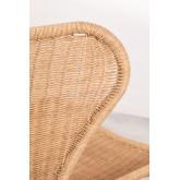 Isdra fauteuil van synthetisch rieten, miniatuur afbeelding 5
