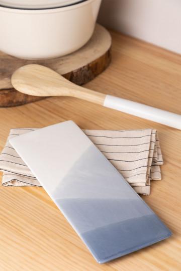 Pack van 4 rechthoekige borden (27,5x10 cm) Mar