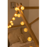 Natuurlijke Led String Lights Adda, miniatuur afbeelding 1