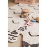 Katoenen vloerkleed (120x80 cm) Scubi Kids, miniatuur afbeelding 5