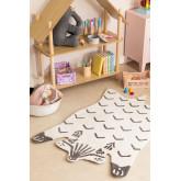 Katoenen vloerkleed (120x80 cm) Scubi Kids, miniatuur afbeelding 1