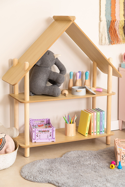 Zita Kids plank met 2 houten planken, galerij beeld 1