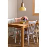 Shor Colors houten eetkamerstoel, miniatuur afbeelding 1