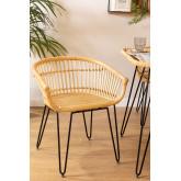 Zenta rotan stoel, miniatuur afbeelding 1