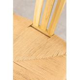 Uish Retro houten eetkamerstoel, miniatuur afbeelding 5