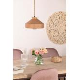 Kissa porseleinen plafondlamp, miniatuur afbeelding 1
