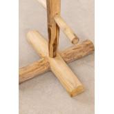 Narel teakhouten kapstok, miniatuur afbeelding 5