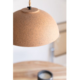 Plafondlamp in porselein Ouval, miniatuur afbeelding 2