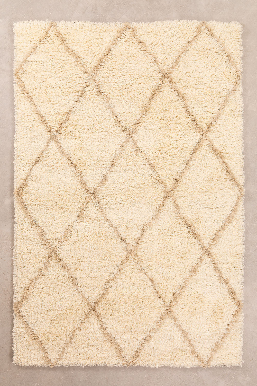 Tapijt van katoen en wol (235x155 cm) Kailin, galerij beeld 1