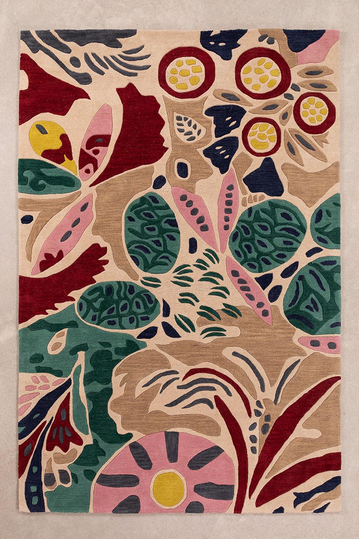 Wollen vloerkleed (240x160 cm) Manila, galerij beeld 1