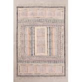Katoenen vloerkleed (185x125 cm) Smit, miniatuur afbeelding 1