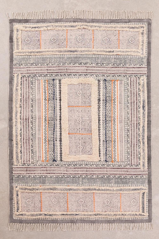 Katoenen vloerkleed (185x125 cm) Smit, galerij beeld 1
