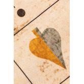Katoenen vloerkleed (180x125 cm) Grafic, miniatuur afbeelding 2