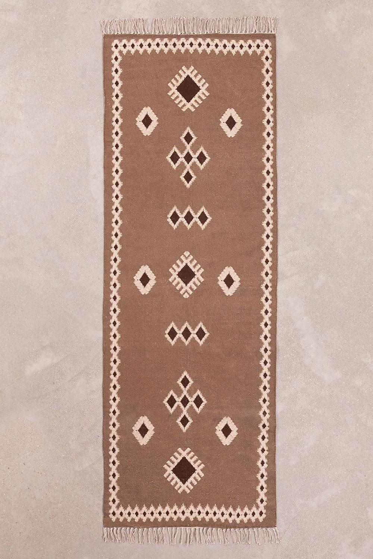 Katoenen vloerkleed (200x70 cm) Murdok, galerij beeld 1