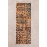 Katoenen vloerkleed (200x75 cm) Llac, miniatuur afbeelding 1