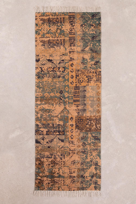 Katoenen vloerkleed (200x75 cm) Llac, galerij beeld 1