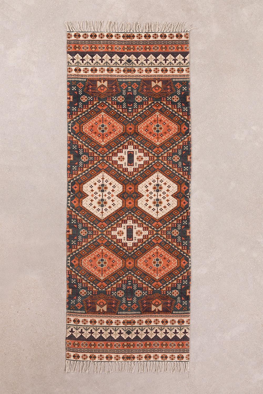 Katoenen vloerkleed (200x75 cm) Alaina, galerij beeld 1